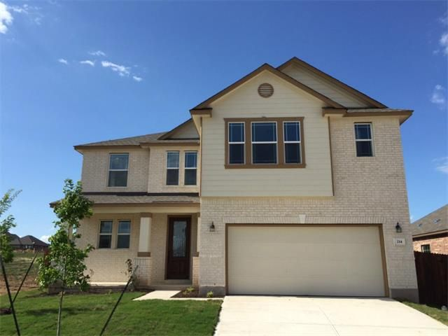 214 culebra dr georgetown tx 78626 new home for sale