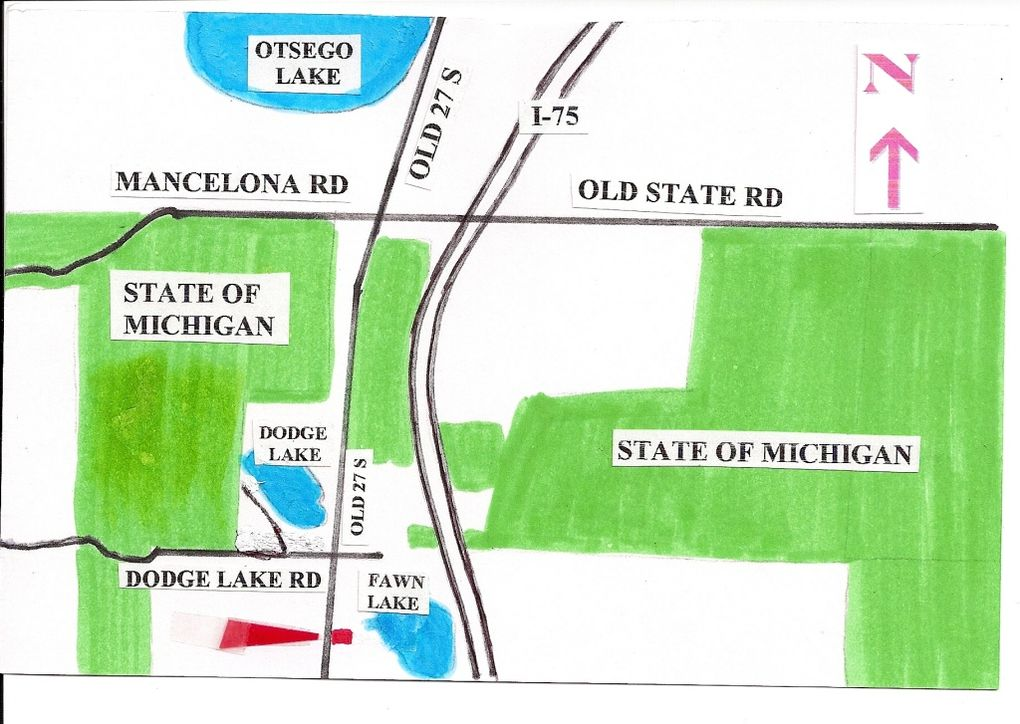 9209 Old Us Highway 27 S Gaylord Mi 49735 Realtorcom - Old-us-27-map
