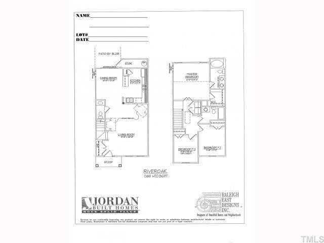 6202 San Marcos Way Raleigh NC 27616 realtor – Jordan Built Homes Floor Plans