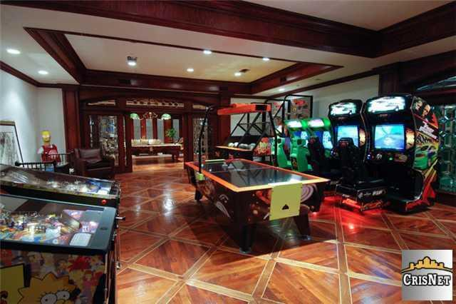 Westlake Village CA Arcade Room It Rates An 8 On The Richter Scale