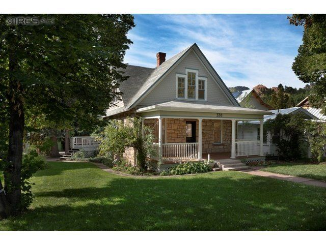 Homes For Sale Mapleton Hill Boulder Co