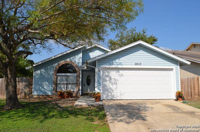 8602 Shallow Ridge Dr San Antonio Tx 78239 Home For