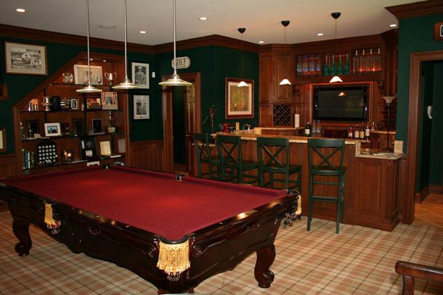 Man Cave With Pool Table And Bar : Deadline newsroom on father s day retreat to a man cave