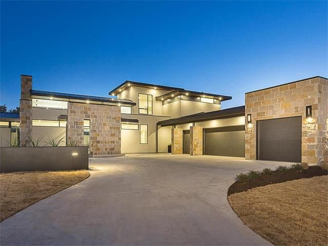 3704 verano dr austin tx 78735 new home for sale for New modern homes in austin tx
