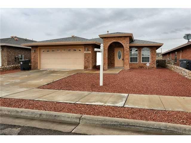 5553 Ignacio Frias Dr El Paso Tx 79934 Home For Sale