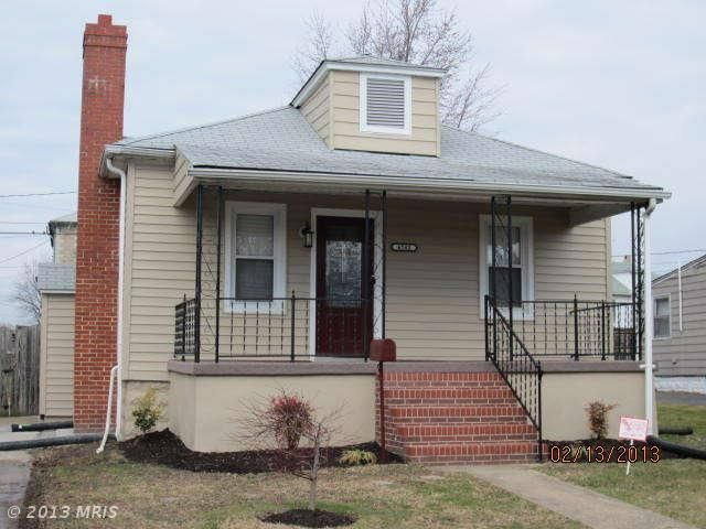 6742 bessemer ave dundalk md 21222 4 beds 1 baths home for Bathrooms dundalk