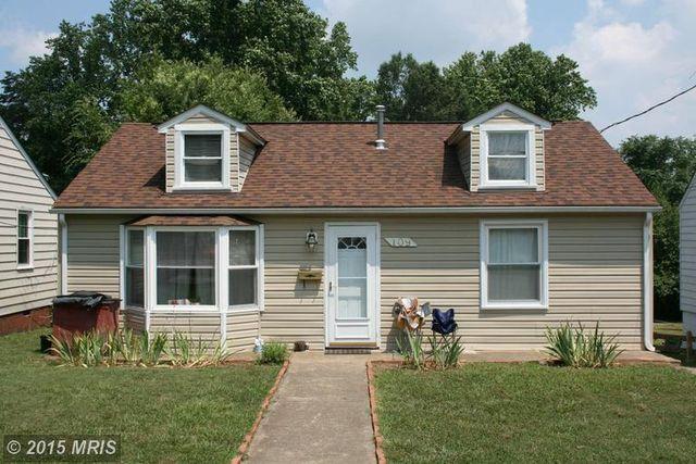 Home for rent 109 ashby st fredericksburg va 22401 for Ashby homes