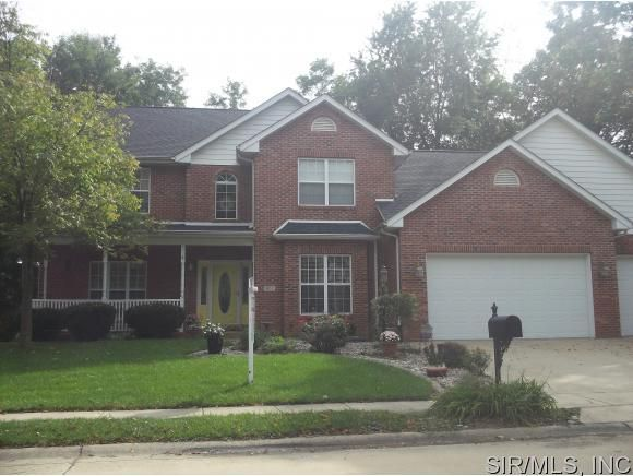 1602 lincoln knolls dr edwardsville il 62025 home for