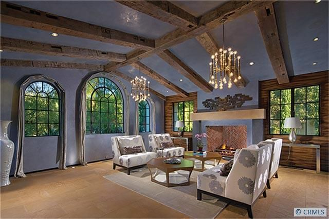Remarkable Spanish Colonial Living Room