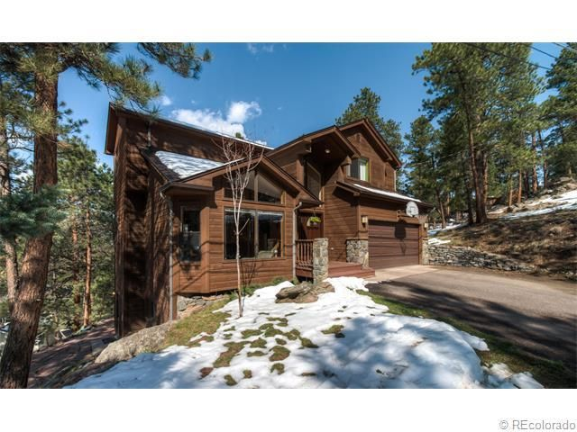 27395 mountain park rd evergreen co 80439 home for