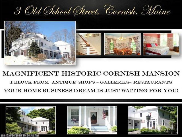 3 old school st cornish me 04020 home for sale and