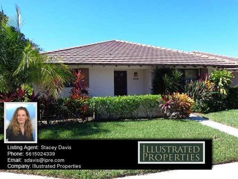 Brokered By Illustrated Properties/Corporate. 609 Club Dr, Palm Beach  Gardens, FL 33418