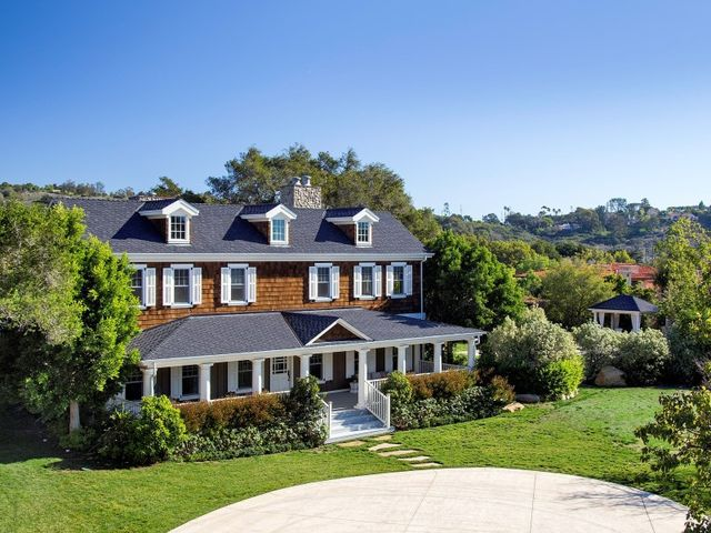 2225 featherhill rd montecito ca 93108 home for sale for East coast house plans